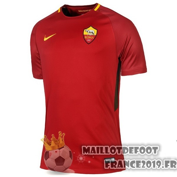 Maillot De Foot Nike Domicile Maillots As Roma 2017-2018 Rouge