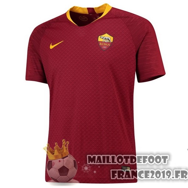 Maillot De Foot Nike Domicile Maillots As Roma 2018-2019 Rouge