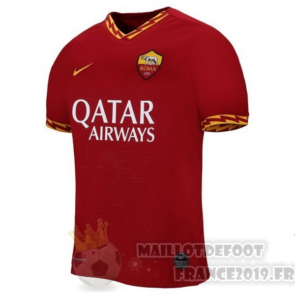 Maillot De Foot Nike Domicile Maillot As Roma 2019 2020 Rouge