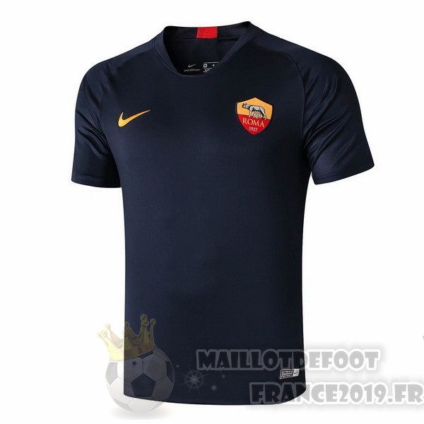 Maillot De Foot Nike Entrainement AS Roma 2019 2020 Bleu Or