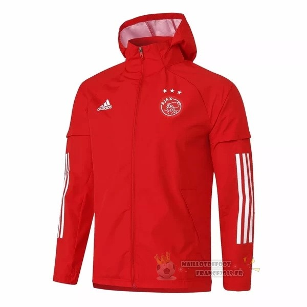 Maillot De Foot adidas Coupe Vent Ajax 2020 2021 Rouge