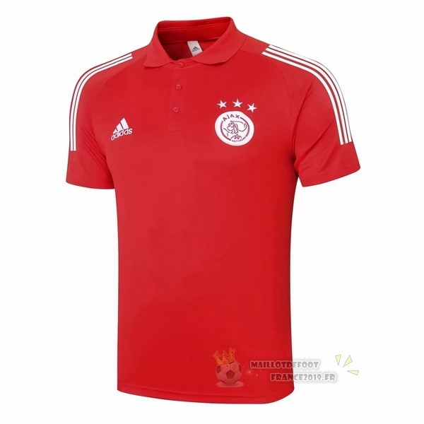 Maillot De Foot adidas Polo Ajax 2020 2021 Rouge
