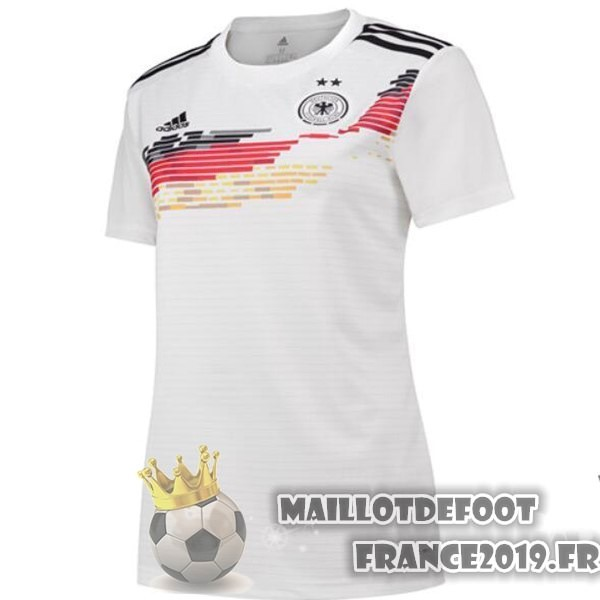 Maillot De Foot Adidas DomiChili Maillot Femme Allemagne 2019 Blanc