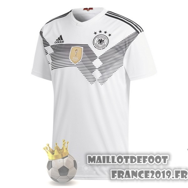 Maillot De Foot adidas Domicile Maillots Allemagne 2018 Blanc