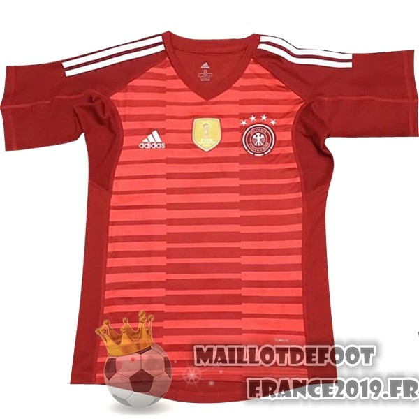Maillot De Foot adidas Maillots Gardien Allemagne 2018 Rouge