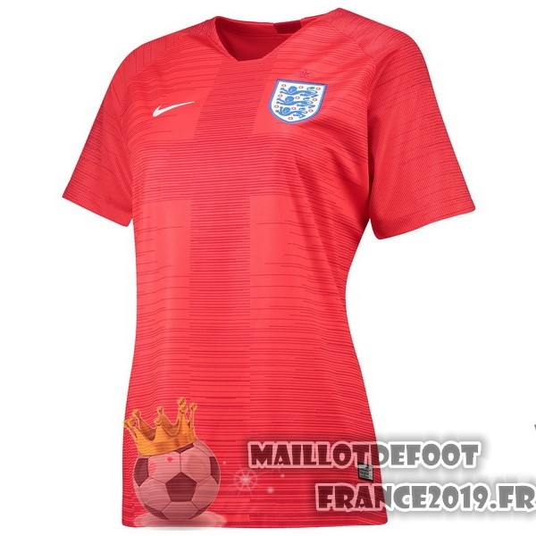 Maillot De Foot Nike Exterieur Maillots Femme Angleterre 2018 Rouge