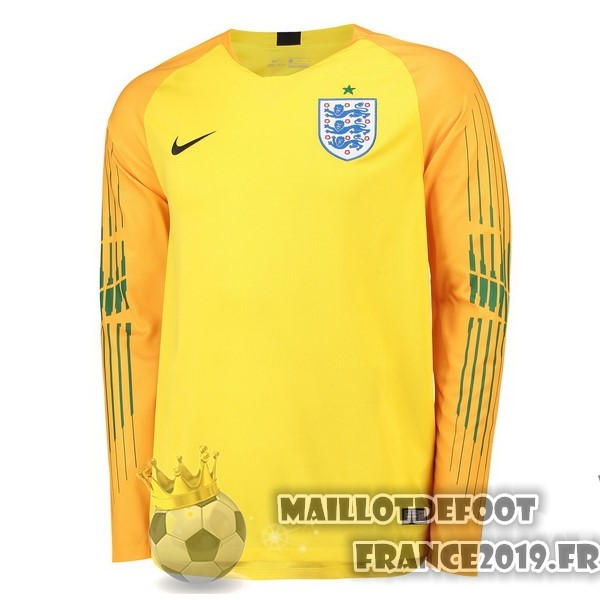 Maillot De Foot Nike Manches Longues Gardien Angleterre 2018 Jaune