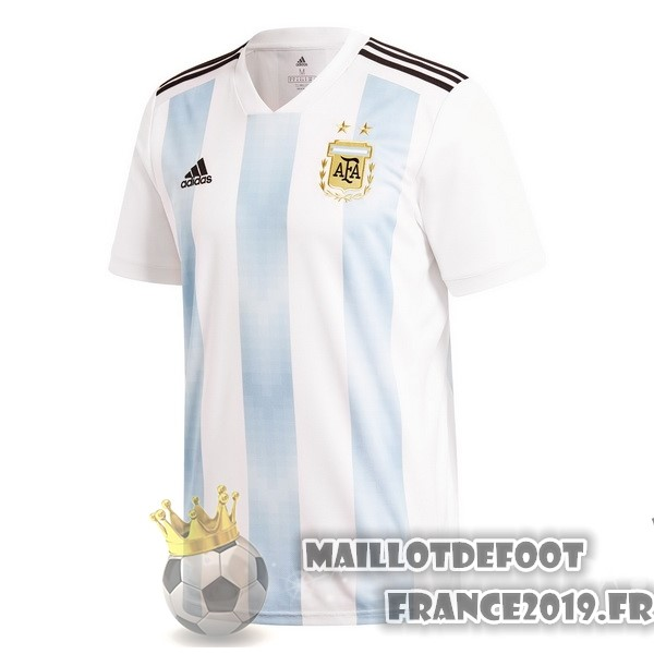 Maillot De Foot adidas Domicile Maillots Argentine 2018 Blanc