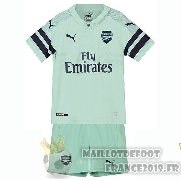 Maillot De Foot PUMA Third Ensemble Enfant Arsenal 2018-2019 Vert