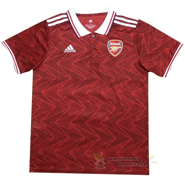Maillot De Foot adidas Polo Arsenal 2020 2021 Rouge