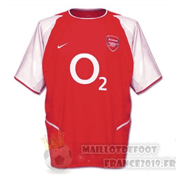 Maillot De Foot Nike Domicile Maillot Arsenal Retro 2002 2003 Rouge
