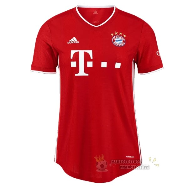 Maillot De Foot adidas Domicile Maillot Mujer Bayern Munich 2020 2021 Rouge