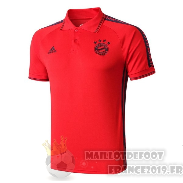 Maillot De Foot adidas Polo Bayern Munich 2019 2020 Rouge