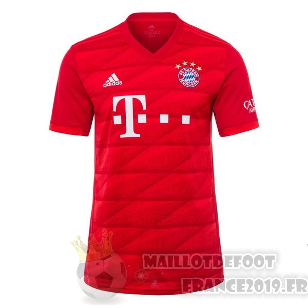Maillot De Foot adidas Domicile Maillot Bayern Munich 2019 2020 Rouge