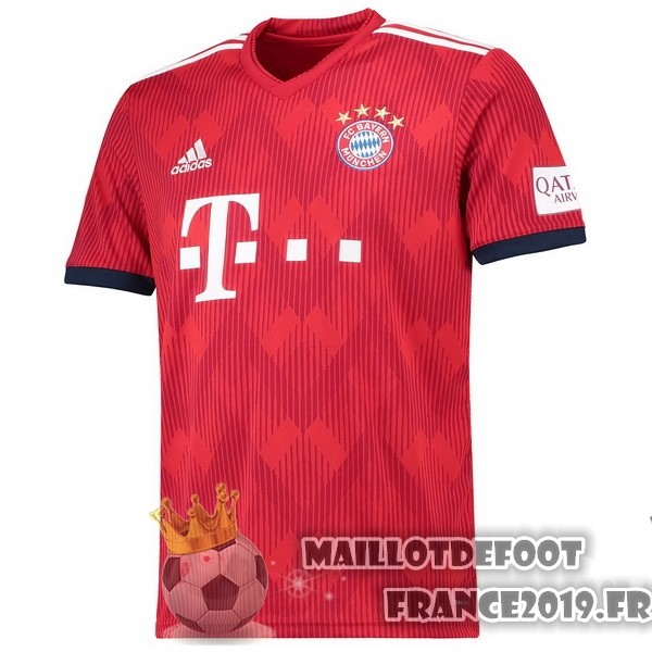 Maillot De Foot adidas Thailande Domicile Maillots Bayern Munich 2018-2019 Rouge