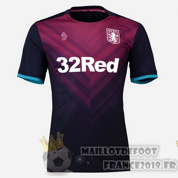 Maillot De Foot Luke Third Maillots Aston Villa 2018-2019 Rouge