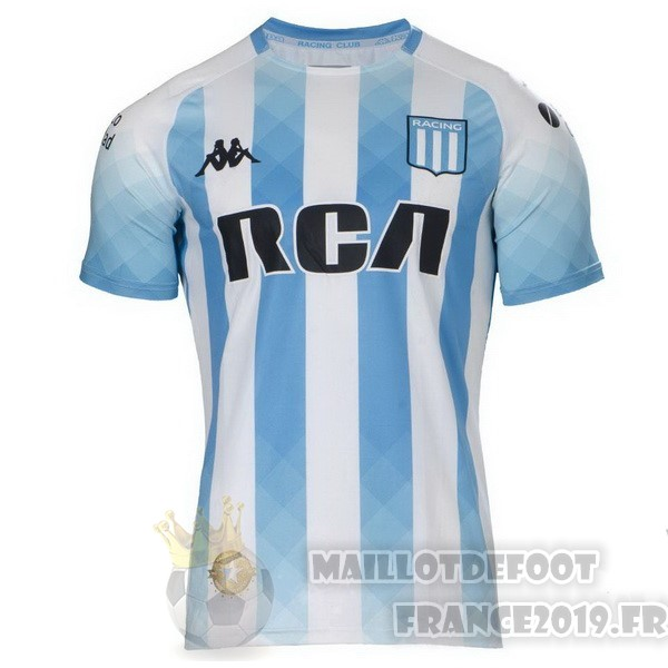 Maillot De Foot Kappa DomiChili Maillot Racing Club 2019 2020 Bleu