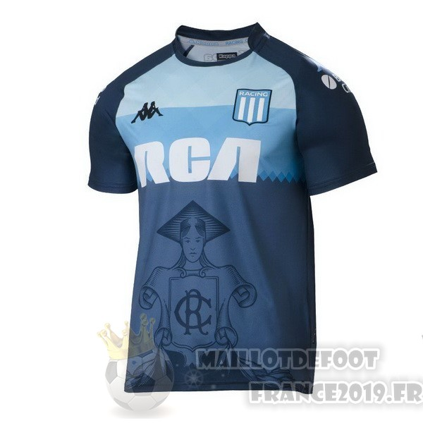 Maillot De Foot Kappa Third Maillot Racing Club 2018 2019 Bleu