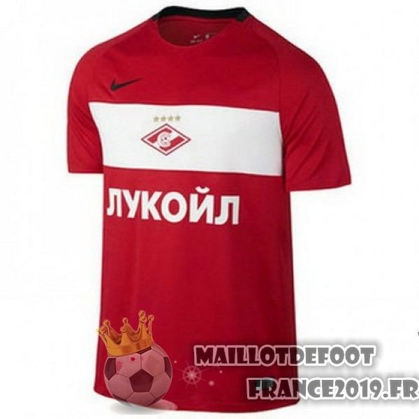 Maillot De Foot Nike Domicile Maillots Spartak Moscou 2017-2018 Rouge