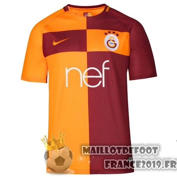 Maillot De Foot Nike Domicile Maillots Galatasaray SK 2017-2018 Orange
