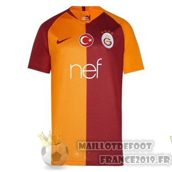 Maillot De Foot Nike Domicile Maillots Galatasaray SK 2018-2019 Orange