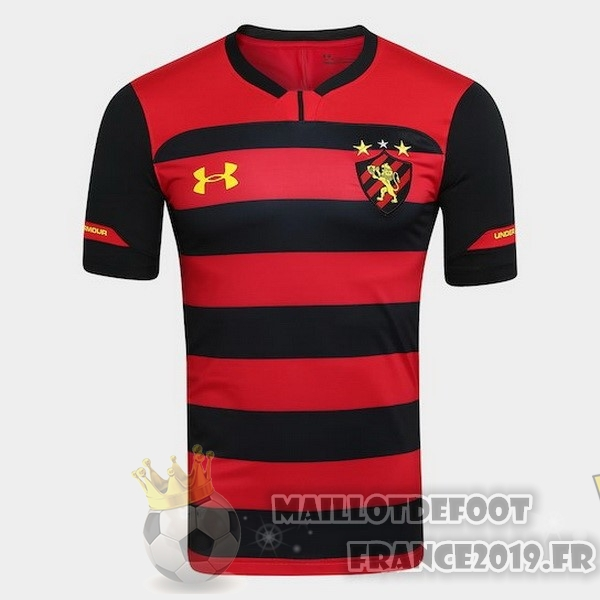 Maillot De Foot Under Armour Domicile Maillots Recife 2018-2019 Rouge
