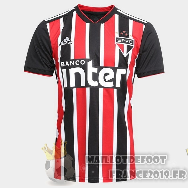 Maillot De Foot adidas Exterieur Maillots São Paulo 2018-2019 Rouge