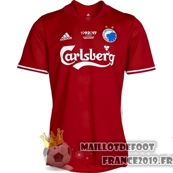 Maillot De Foot adidas Third Maillots Copenhague 2017-2018 Rouge