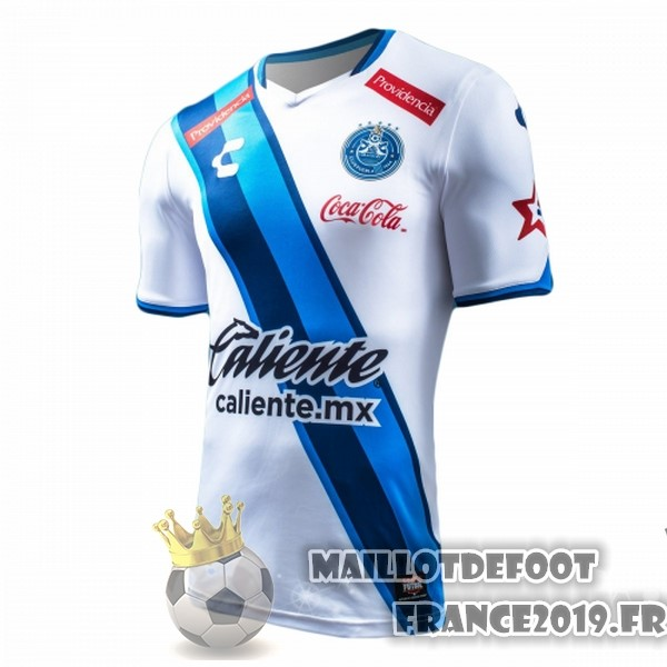 Maillot De Foot Tenis Charly Domicile Maillots Club Puebla 2017-2018 Blanc