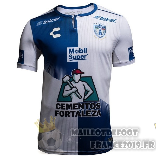 Maillot De Foot Tenis Charly Domicile Maillots Pachuca 2018-2019 Bleu Blanc