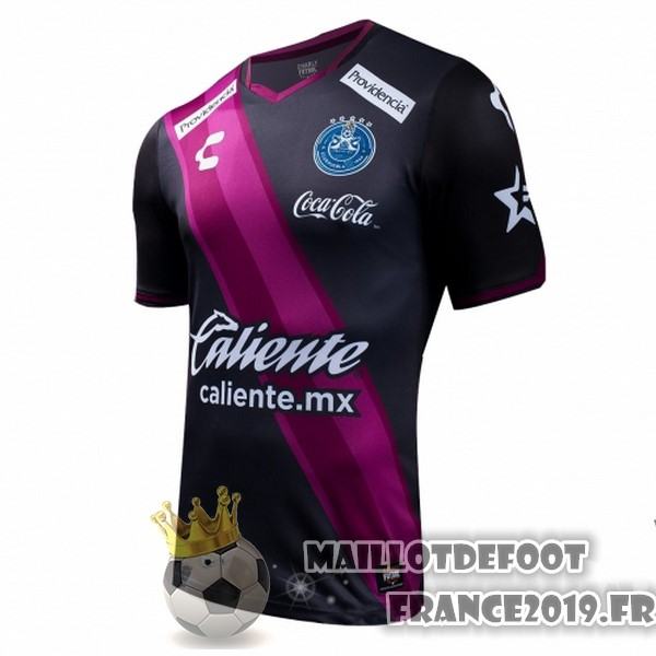 Maillot De Foot Tenis Charly Third Maillots Club Puebla 2017-2018 Noir