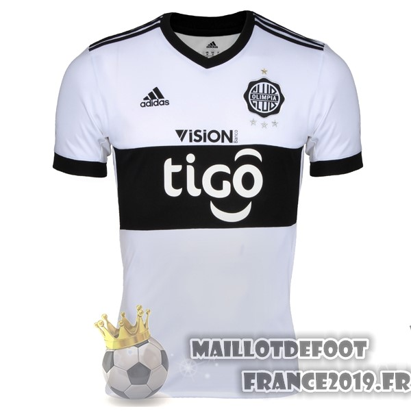 Maillot De Foot adidas Domicile Maillots Club Olimpia 2017-2018 Blanc