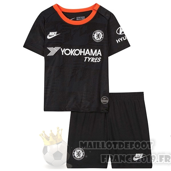 Maillot De Foot Nike Third Ensemble Enfant Chelsea 2019 2020 Bleu