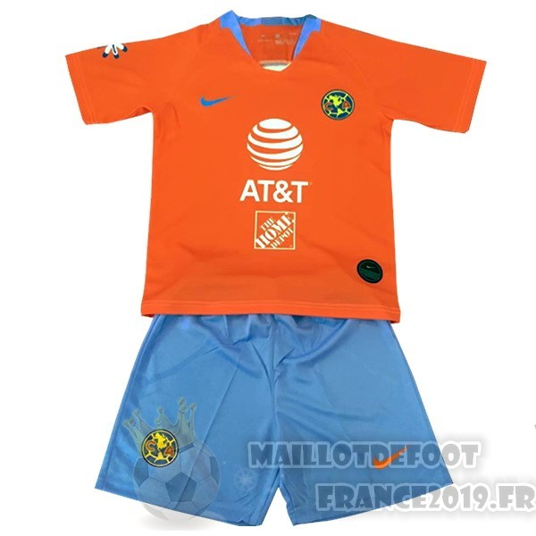 Maillot De Foot Nike Third Conjunto De Enfant Club América 2019 2020 Orange