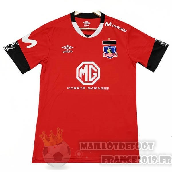 Maillot De Foot Tenis Charly Third Maillot Colo Colo 2019 2020 Rouge