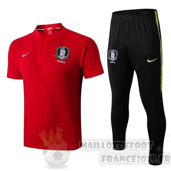 Maillot De Foot Nike Ensemble Polo Corea 2018 Rouge