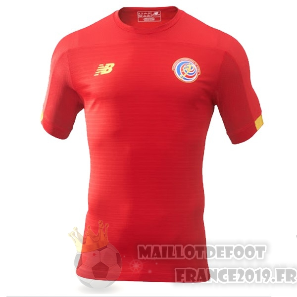 Maillot De Foot New Balance Domicile Maillot Costa Rica 2019 Rouge