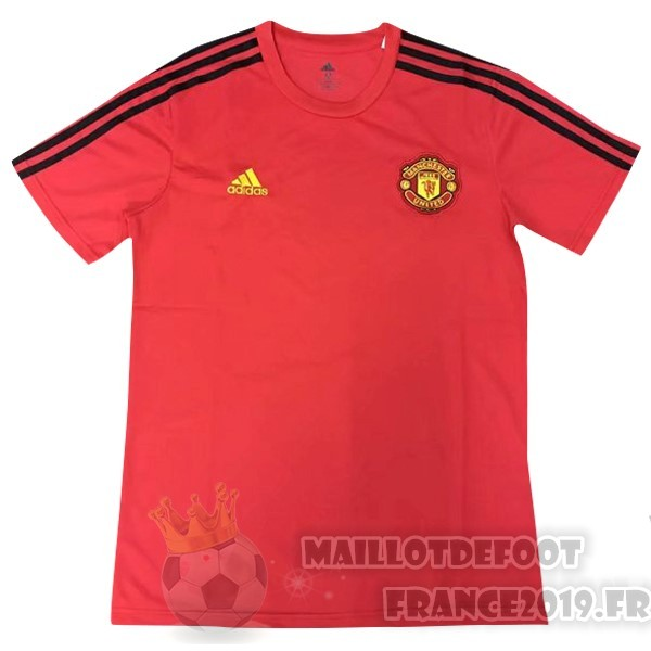 Maillot De Foot Adidas Entrainement Manchester United 2019 2020 Rouge