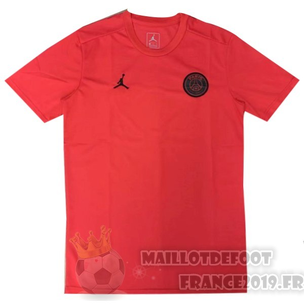 Maillot De Foot Jordan Entrainement Paris Saint Germain 2019 2020 Rouge