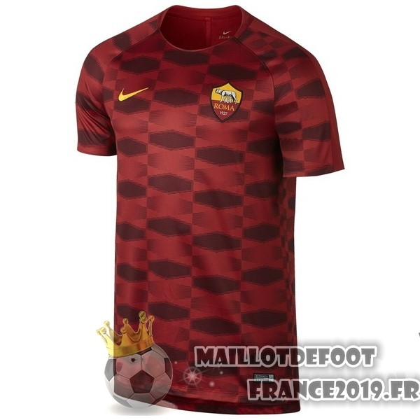 Maillot De Foot Nike Entrainement AS Roma 2017-2018 Rouge