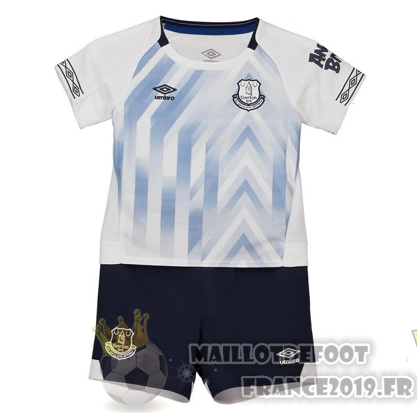 Maillot De Foot umbro Third Ensemble Enfant Everton 2018-2019 Blanc