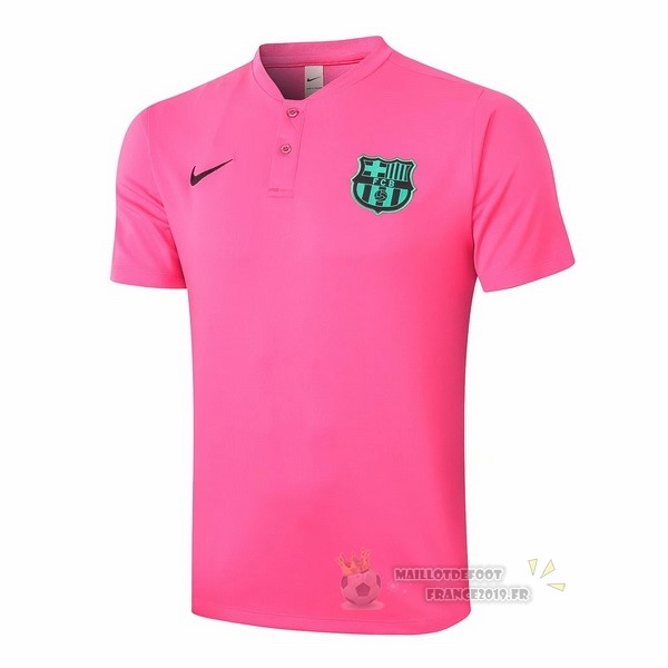 Maillot De Foot Nike Polo Barcelone 2020 2021 Rose