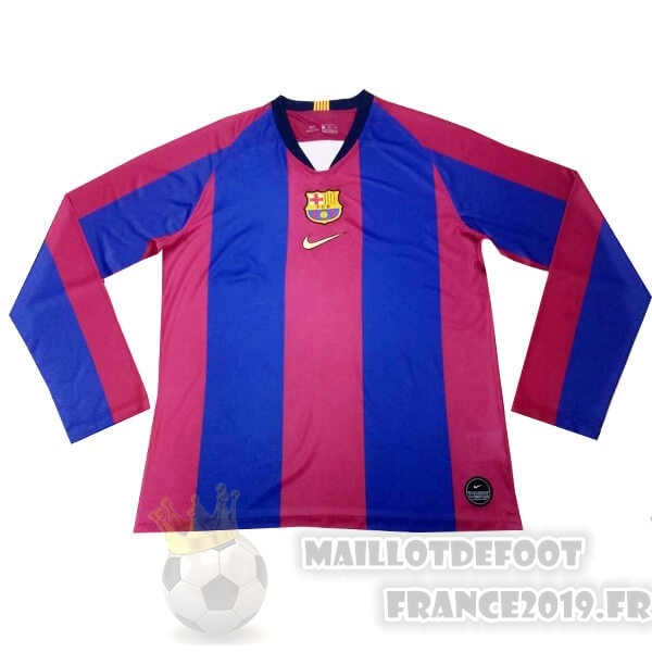 Maillot De Foot Nike Maillot Manches Longues Barcelona 120th Bleu Rouge