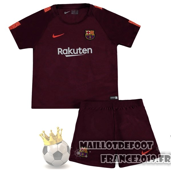 Maillot De Foot Nike Third Ensemble Enfant Barcelona 2017-2018 Bordeaux