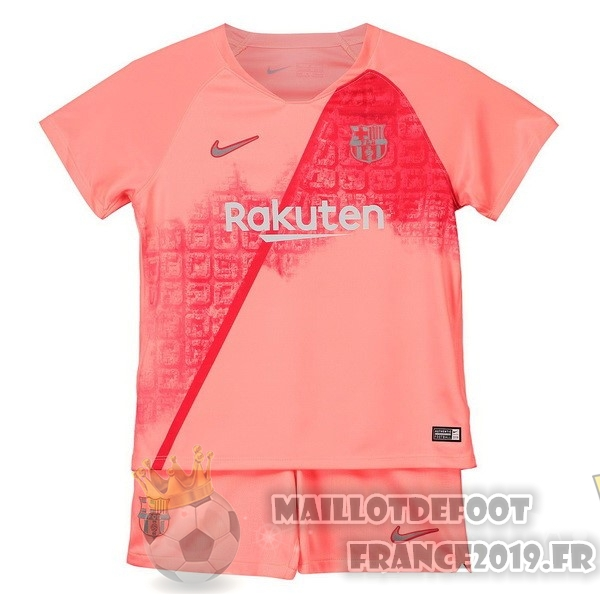 Maillot De Foot Nike Third Ensemble Enfant Barcelona 2018-2019 Rouge
