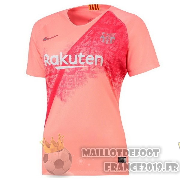 Maillot De Foot Nike Third Maillots Femme Barcelona 2018-2019 Rouge