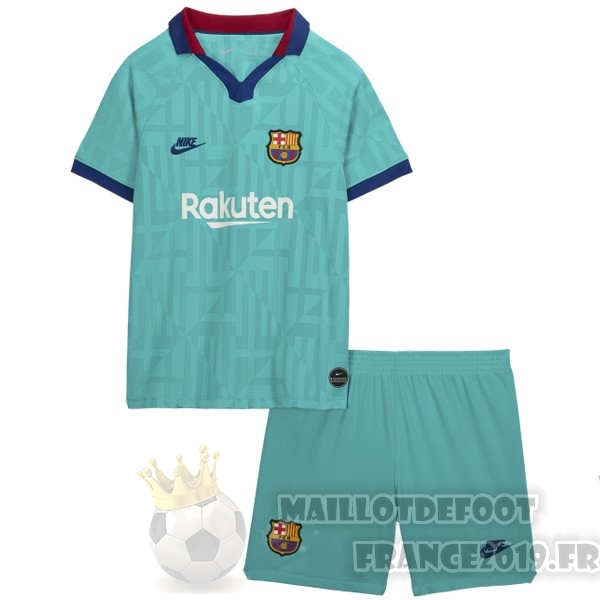 Maillot De Foot Nike Third Ensemble Enfant Barcelona 2019 2020 Vert