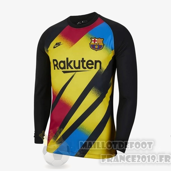 Maillot De Foot Nike Maillot Gardien Manches Longues Barcelona 2019 2020 Jaune