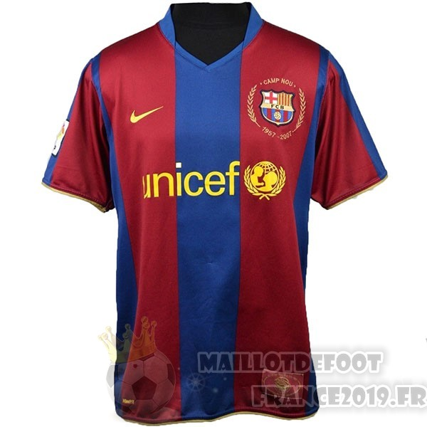 Maillot De Foot Nike Maillot Barcelona 50Th Bleu Rouge