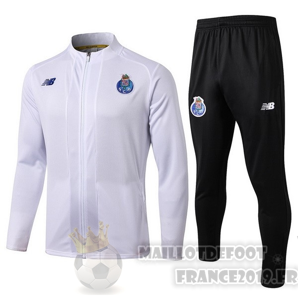 Maillot De Foot New Balance Survêtements Oporto 2019 2020 Blanc
